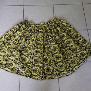 Unique Vintage Plus Size skirt
